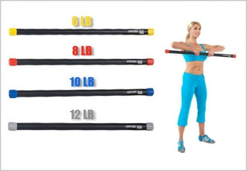 Body Bar PS Zel FI-9001, 10 LB (4,5 кг) фото 4